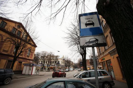 Eriko Ovčarenko/15min.lt nuotr./Kauno taksi