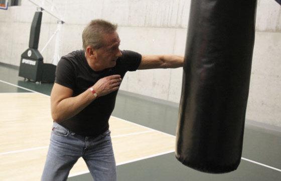 Vladimiro Romavono treniruotė