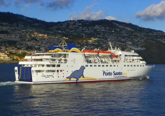 Keltas į Porto Santo salą