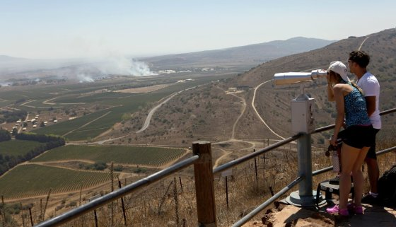 123rf.com nuotr./Apžvalgos aikštelė Sirijoje