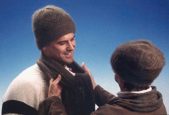 Avijaučio vilnos kepurės ir šalikas