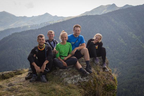 Dviračiais per Gruziją keliavę 5 lietuviai sukūrė filmą