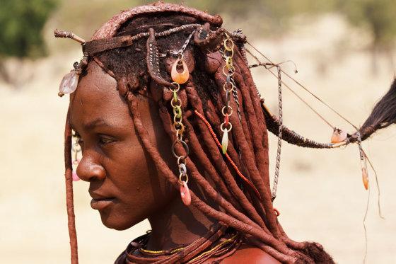 Išskirtinės Namibijos moterų šukuosenos kurias jos puoselėja nuo vaikystės