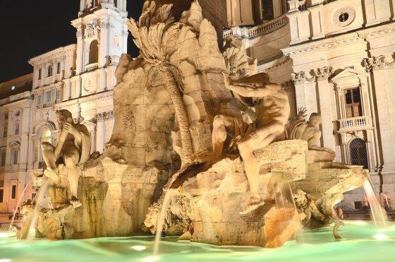 123rf.com nuotr./Keturių upių fontanas Romoje.