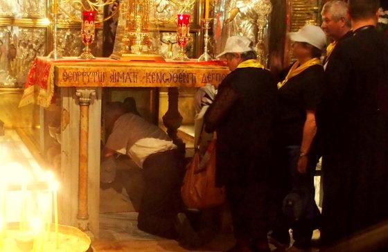 Kristaus karsto bažnyčia: vieta, kur stovėjo Kristaus kryžius