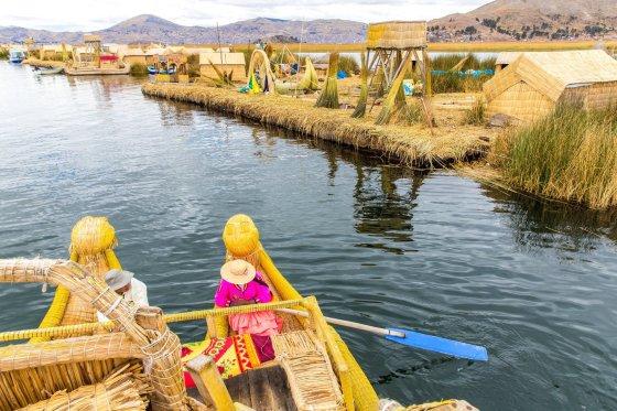 Titikakos ežero gyvenvietės, Peru