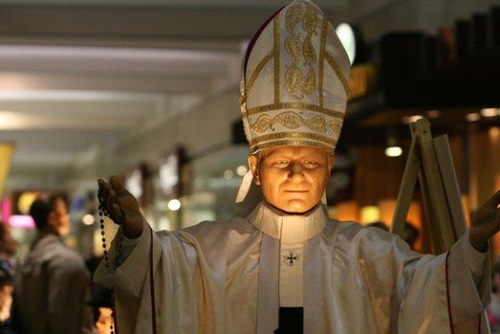 Aurelijos Kripaitės/15min.lt nuotr./Popiežius Jonas Paulius II.