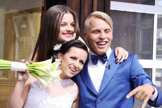 J.Andriejauskaitės nuotr./Justinos Žemaitytės ir Tado Gaučo vestuvių akimirkos