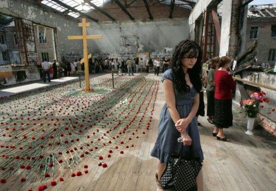 """""""Scanpix"""" nuotr./Beslano žudynių metinės"""