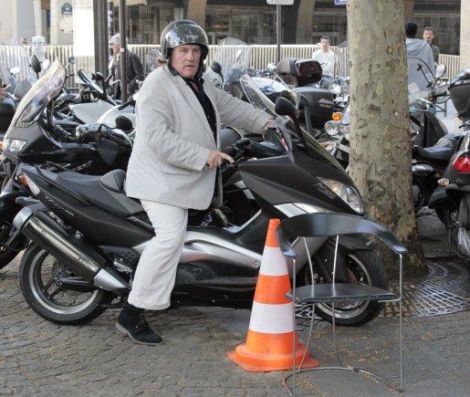 AFP/Scanpix nuotr./Gerardas Depardieu
