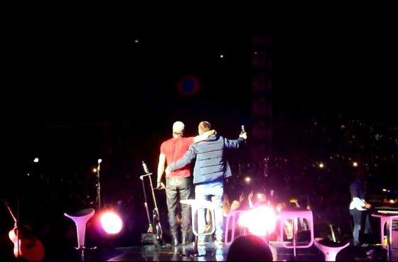 Asmeninio albumo nuotr./Tomas Motiejūnas ir Enrique Iglesias