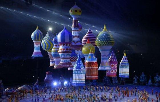 """""""Scanpix"""" nuotr./Sočio olimpinių žaidynių atidarymo ceremonija"""