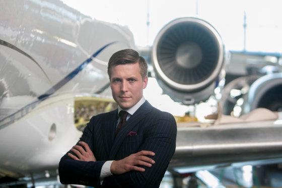 "Juliaus Kalinsko/15min.lt nuotr./""FL Technics Jets"" pardavimo vadovas Igoris Gerasimukas"