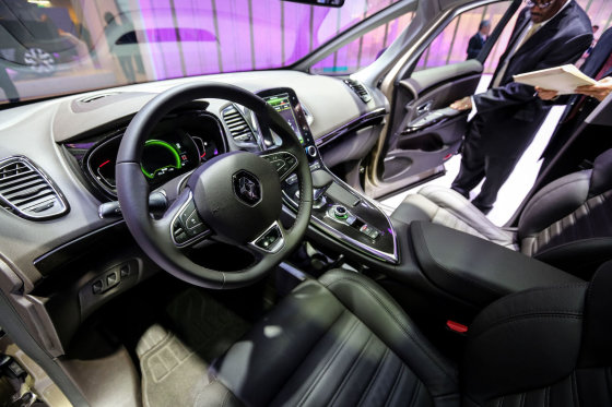 """Juliaus Kalinsko/15min.lt nuotr./Erdvusis """"Renault Espace"""""""