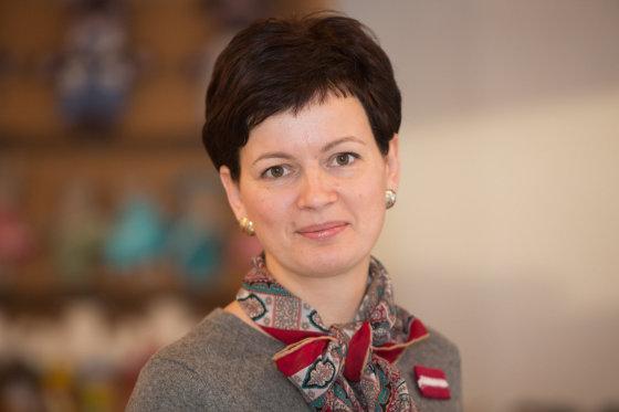 Juliaus Kalinsko/15min.lt nuotr./Latvijos labdaros organizacijos Ziedot.lv vadovė Rūta Dimanta