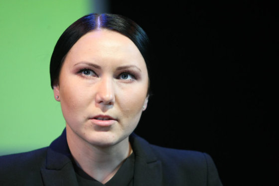 Juliaus Kalinsko/15min.lt nuotr./Vilniaus mažojo teatro vadovė Greta Cholina