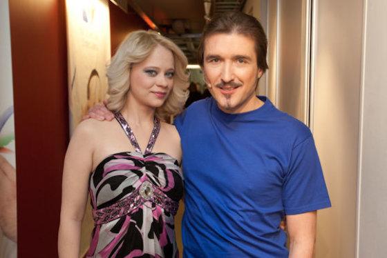 Arvydas Gaičiūnas su žmona Aurelija