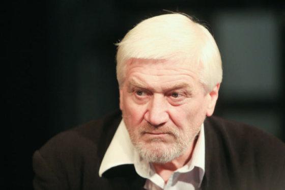 """Juliaus Kalinsko/15min.lt nuotr./Teatro vadovas ir būsimos premjeros """"Eugenijus Oneginas"""" režisierius Jonas Vaitkus"""