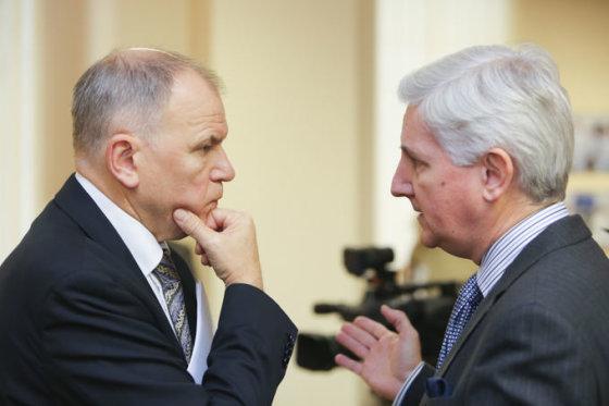 Vytenis Povilas Andriukaitis ir  Markusas N. P. Dutly
