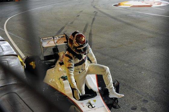 """AFP/""""Scanpix"""" nuotr./Kamui Kobayashi avarija"""