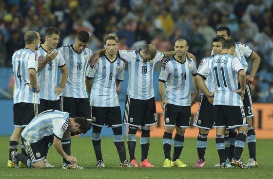 """AFP/""""Scanpix"""" nuotr./Argentinos futbolininkai"""