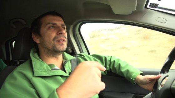 """LRT Televizijos laidos """"Emigrantai"""" stop kadras./Danielius Lupšicas"""