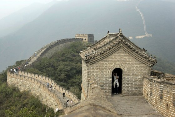 """AFP/""""Scanpix"""" nuotr./Didžioji kinų siena"""