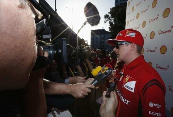 """""""Reuters""""/""""Scanpix"""" nuotr./Kimi Raikkonenas"""