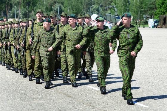 Alfredo Pliadžio nuotr./Lietuvos valstybei priesaiką davė 86 kariuomenės naujokai