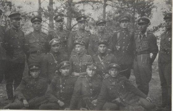 Kęstučio Č. nuotr./Partizanai (Žilinų kaimas, Varėnos raj.)