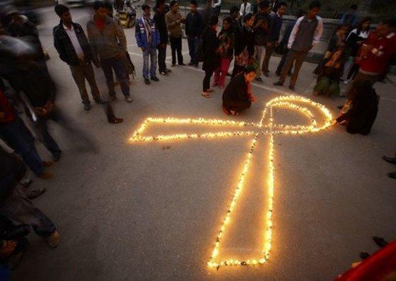Pasaulinės kovos su AIDS dienos minėjimas