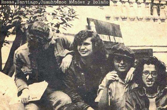 """""""Kitos Knygos"""" nuotr./R.Bolano su draugais 1975 metais"""