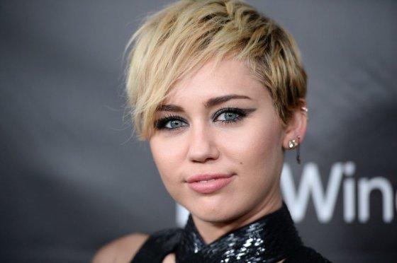 """""""Scanpix""""/AP nuotr./Miley Cyrus"""