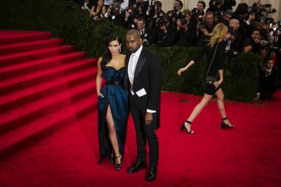 """""""Reuters""""/""""Scanpix"""" nuotr./Kim Kardashian ir Kanye Westas"""