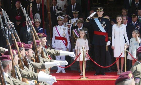 AOP nuotr./Karaliaus Felipe VI karūnavimo iškilmės