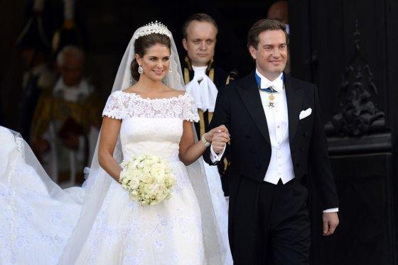 """""""Scanpix"""" nuotr./Švedijos princesė Madeleine ir Chrisas O'Neillas"""