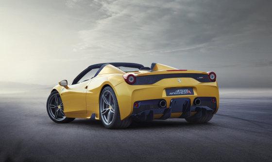 """""""Live Nation"""" nuotr./""""Ferrari 458 Speciale"""""""