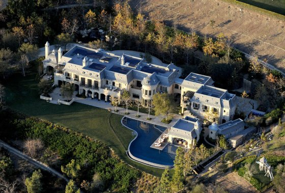 AOP nuotr./Gisele Bundchen ir Tomo Brady namas Los Andžele