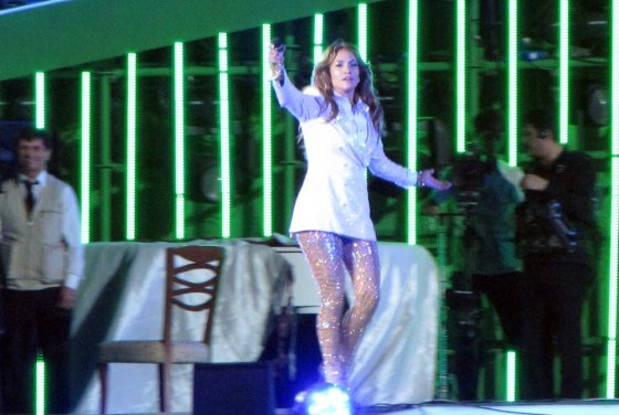 """AFP/""""Scanpix"""" nuotr./Jennifer Lopez Turkmėnistane"""