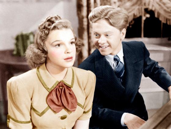 AOP nuotr./Judy Garland ir Mickey Rooney 1940-aisiais