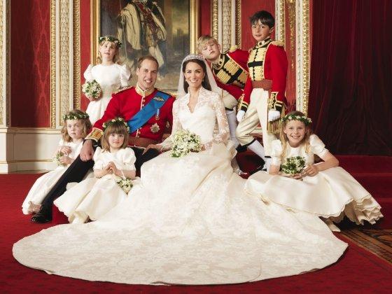 """""""Reuters""""/""""Scanpix"""" nuotr./Ledi Louise Windsor (stovi kairėje) per pusbrolio princo Williamo ir Kembridžo hercogienės Catherine vestuves"""