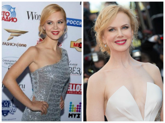 """Asmeninio albumo ir """"Scanpix"""" nuotr./Monika Linkytė ir Nicole Kidman"""