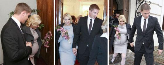 Teodoro Biliūno/Žmonės.lt nuotr./Nijolė Pareigytė-Rukaitienė ir Rimvydas Rukaitis švenčia pirmąsias santuokos metines