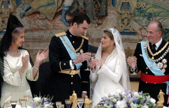 "AFP/""Scanpix"" nuotr./Princo Felipe ir princesės Letizios vestuvės"