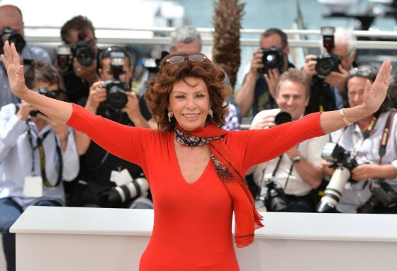 """Scanpix""/""Anadolu Ajansi"" nuotr./Sophia Loren (2014 m.)"