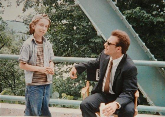 "Stop kadras/11-metė Tillett Wright filme ""Julian Po"""