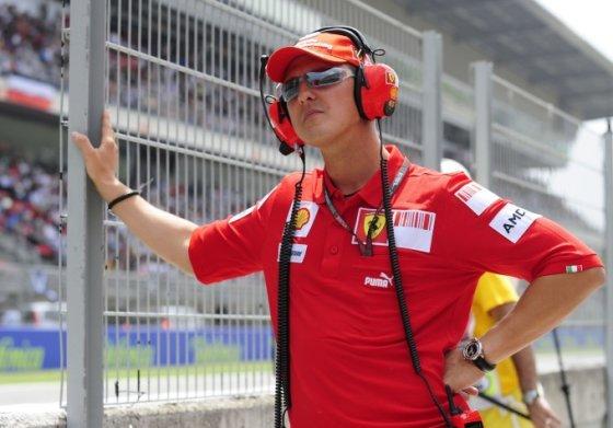 Michaelis Schumacheris 2010-ųjų gegužę