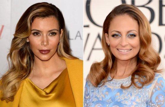 Kim Kardashian ir Nicole Richie dabar