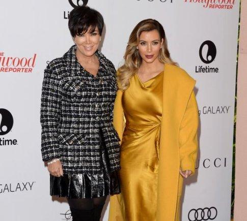 Kris Jenner ir Kim Kardashian