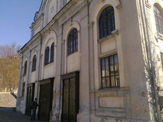 Tomo Grigalevičiaus/15min.lt nuotr./Kauno žydų sinagoga išniekinama jau ne pirmą kartą.